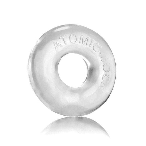 Atomic Jock Donut 2 Stretch Cockring - Clear Adult Toys Blue Ox Designs LLC
