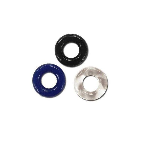 Rock-It Rings Tri-Color 3-Pack Sexual Enhancers Rock-It Rings LLC