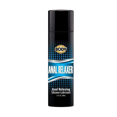 Body Action Anal Relaxer Silicone Lubricant 1.7 oz (50 ml) Sexual Enhancers Body Action Products