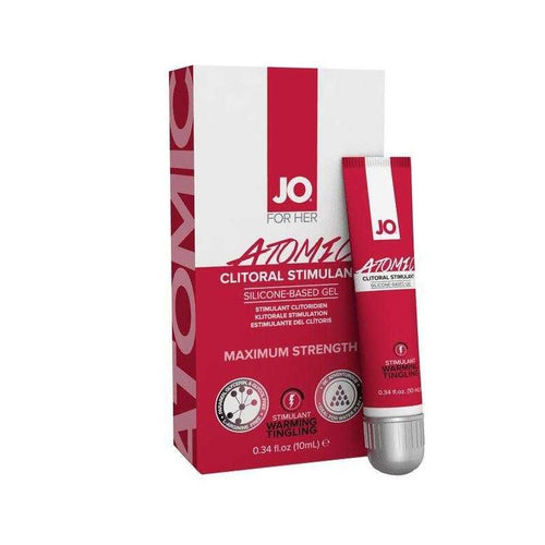 System JO Atomic Clitoral Stimulation Gel - .34 oz ( 10 ml) tube Sexual Enhancers System JO: United Consortium Inc.