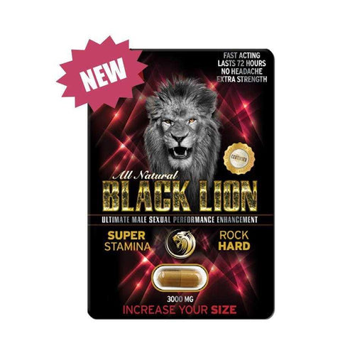 Black Lion Male Sexual Enhancement (1 Pill) Sexual Enhancers SX Power CO