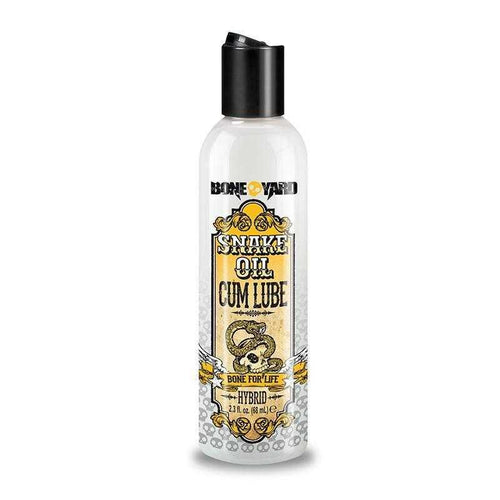 Bone Yard Snake Oil Cum Lube 2.3 oz (68 ml) Personal Lubricant Bone Yard