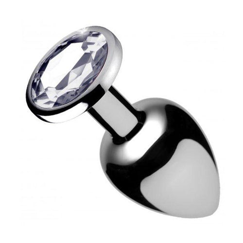 Booty Sparks Clear Gem Anal Plug - Medium Adult Toys XR Brand