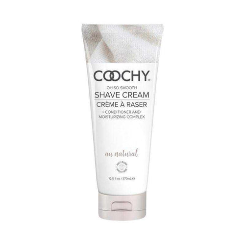 Coochy Shave Cream au Natural Fragrance Free Body Shaving Creams Classic Erotica 12.5 oz (370 mL)