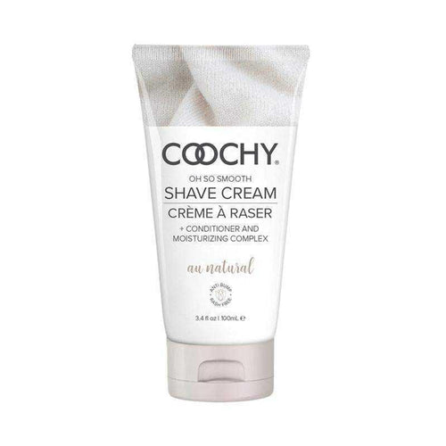 Coochy Shave Cream au Natural Fragrance Free Body Shaving Creams Classic Erotica 3.4 oz (100 mL)