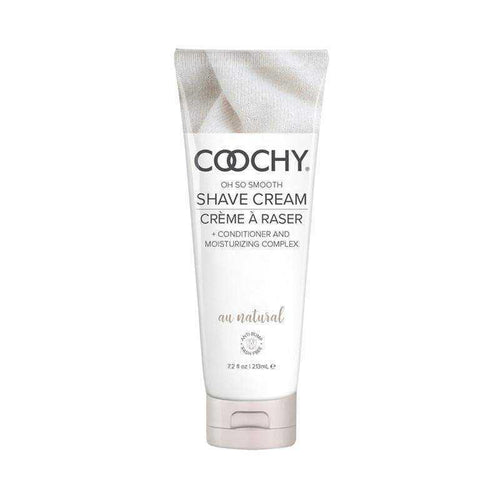 Coochy Shave Cream au Natural Fragrance Free Body Shaving Creams Classic Erotica 7.2 oz (213 mL)
