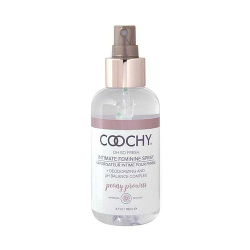 Coochy Intimate Feminine Spray Peony Prowess 4 oz (118 mL) Body Shaving Creams Classic Erotica