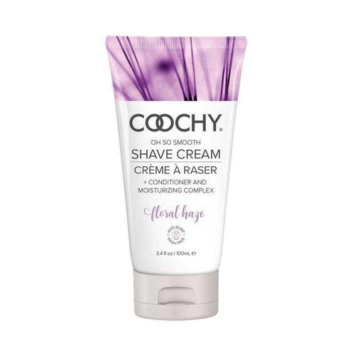 Coochy Shave Cream Floral Haze Body Shaving Creams Classic Erotica 3.4 oz (100 mL)