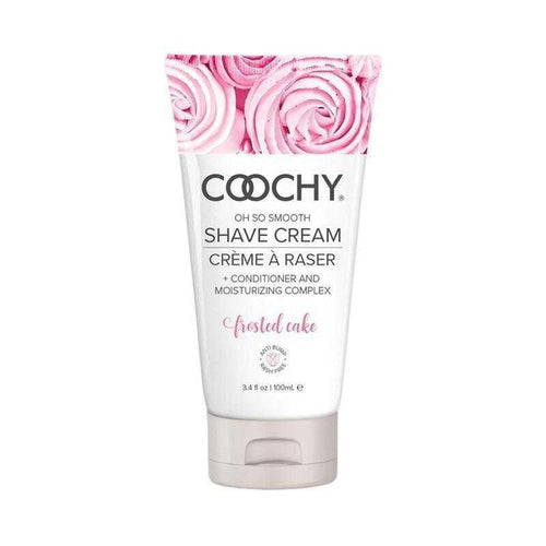 Coochy Shave Cream Frosted Cake Body Shaving Creams Classic Erotica 3.4 oz (100 mL)