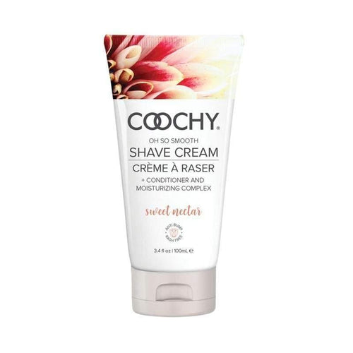Coochy Shave Cream Sweet Nectar Body Shaving Creams Classic Erotica 3.4 oz (100 mL)