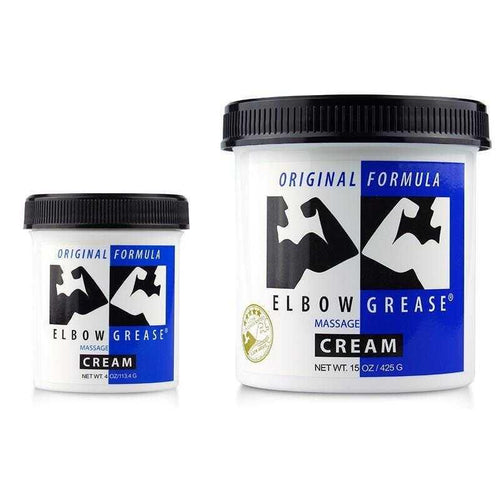 Elbow Grease Original Cream - Massage Cream Personal Lubricant B. Cumming Company