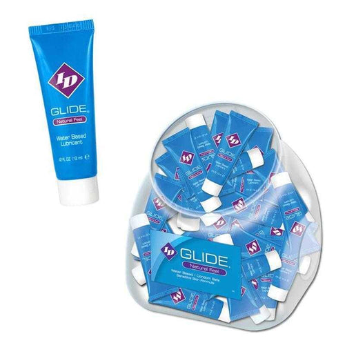 ID Glide - Natural Feel Water Based Lubricant Personal Lubricant Westridge Laboratories Inc 0.42 oz Pocket Tube