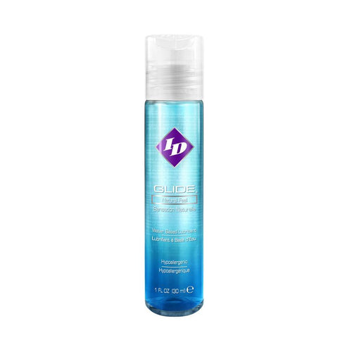 ID Glide - Natural Feel Water Based Lubricant Personal Lubricant Westridge Laboratories Inc 1 oz (30 mL)
