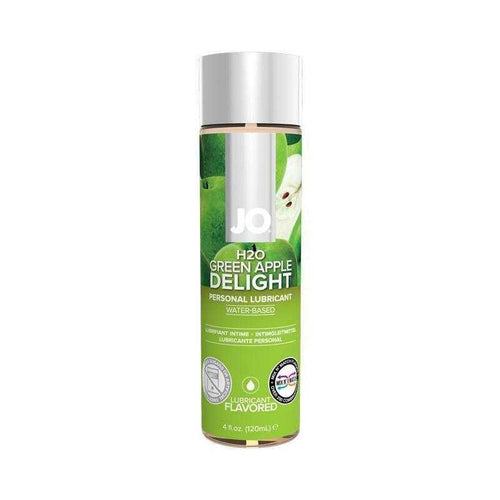 JO H2O Flavored Personal Lubricant 4 oz (120 mL) Personal Lubricant System JO: United Consortium Inc. Green Apple Delight
