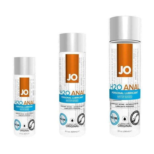 JO H2O Anal Water Based Personal Lubricant Personal Lubricant System JO: United Consortium Inc.