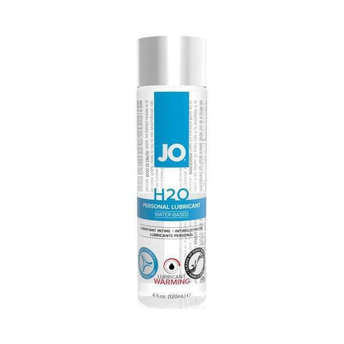 JO H2O Warming Personal Lubricant Personal Lubricant System JO: United Consortium Inc. 4 oz (120 mL)