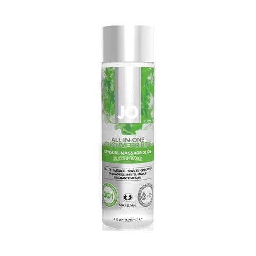 JO All-In-One Sensual Massage Glide 4oz (120 mL) Bath & Body System JO: United Consortium Inc. Cucumber Bite