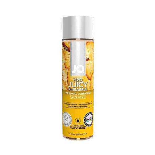 JO H2O Flavored Personal Lubricant 4 oz (120 mL) Personal Lubricant System JO: United Consortium Inc. Juicy Pineapple