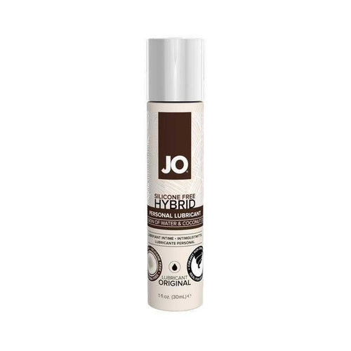 JO Silicone Free Hybrid Lubricant 1 oz (30 mL) - Coconut and Water Based Personal Lubricant System JO: United Consortium Inc.