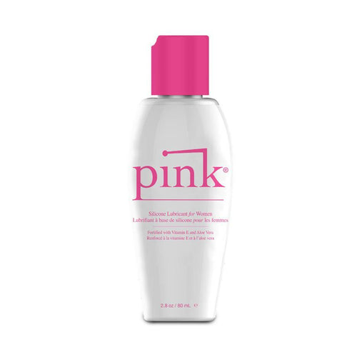 Pink Silicone Personal Lubricants for Women Personal Lubricant Empowered Products Inc 2.8 oz (80 mL)