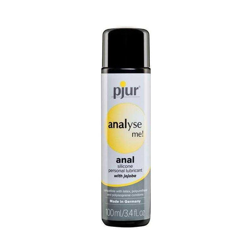 Pjur Analyse Me! Anal Silicone Personal Lubricant Personal Lubricant Pjur USA 100 mL (3.4 oz)