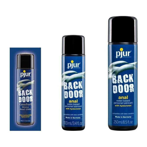 Pjur BackDoor Anal Water Based Personal Lubricant Personal Lubricant Pjur USA 1.5 mL (0.05 oz) Foil Sample