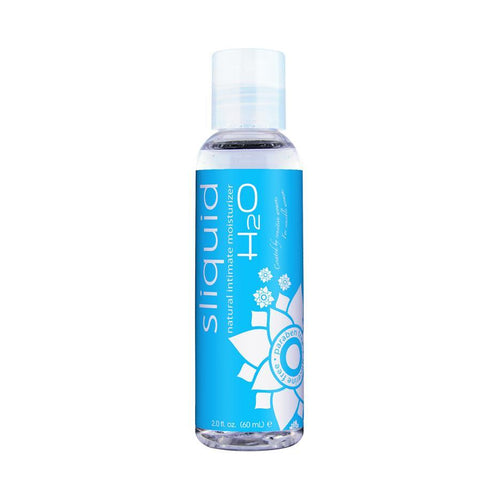 Sliquid Naturals H2O Intimate Water-Based Lubricants Personal Lubricant Sliquid LLC 2 oz (60 mL)