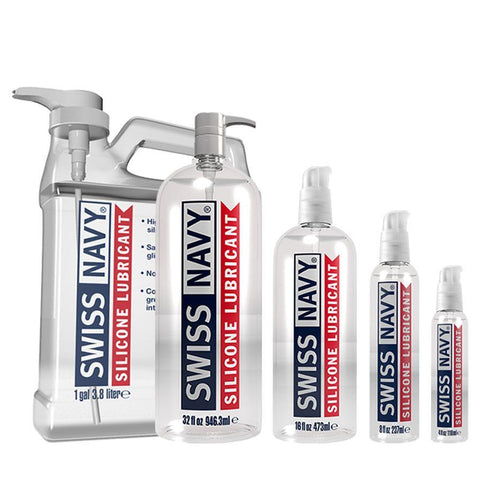 Swiss Navy Silicone Lubricant Personal Lubricant MD Science Lab LLC