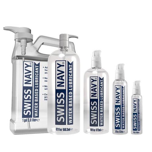 Swiss Navy Water Based Lubricant Personal Lubricant MD Science Lab LLC