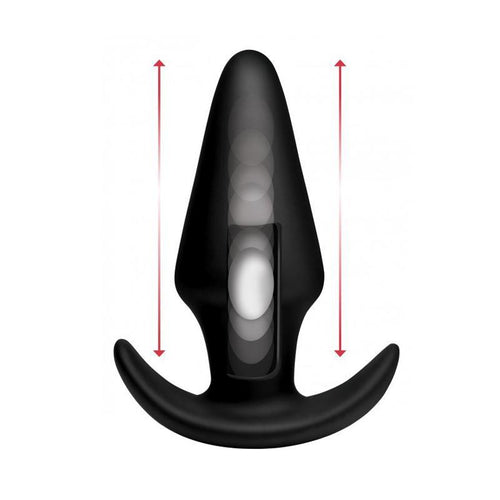 Thump-It Large Thumping Anal Plug W/Remote Adult Toys XR Brand