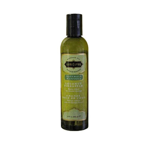 Kama Sutra Natural Massage Oils - Coconut Pineapple 8 oz (200 ml) Personal Lubricant The Kama Sutra Company