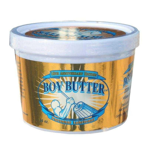 Boy Butter Gold 10th Anniversary Edition 16 oz (473 ml) Personal Lubricant Boy Butter