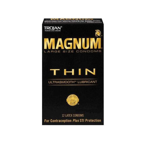 Trojan Magnum THIN 12 Pk Condoms Church & Dwight Co.