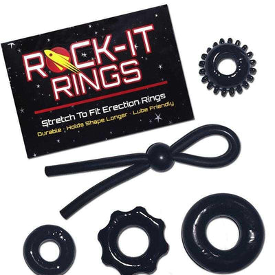 Rock-It Rings Sampler 5-Pack - Save $10! Sexual Enhancers Rock-It Rings LLC