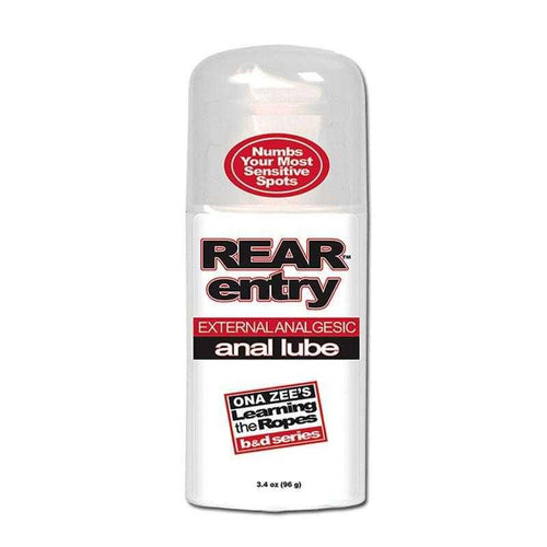 Rear Entry Desensitizing Anal Lube 3.4 oz (96 g) Personal Lubricant Doc Johnson Enterprises