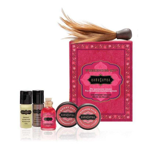Kama Sutra Weekender Kit - Strawberry Dreams Romantic Gift Ideas The Kama Sutra Company
