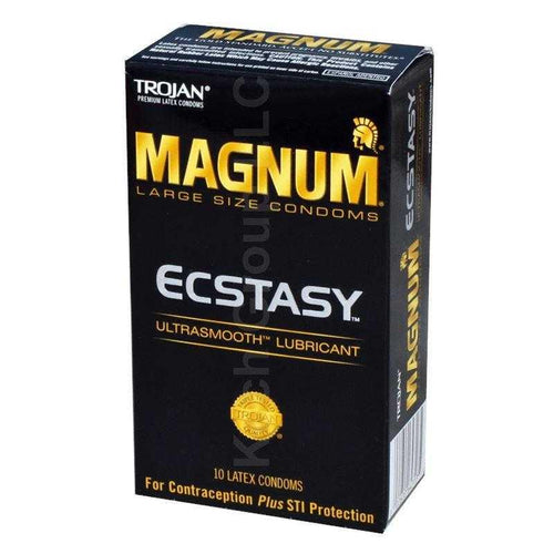 Trojan Magnum Ecstasy 10 Pk Condoms Church & Dwight Co.