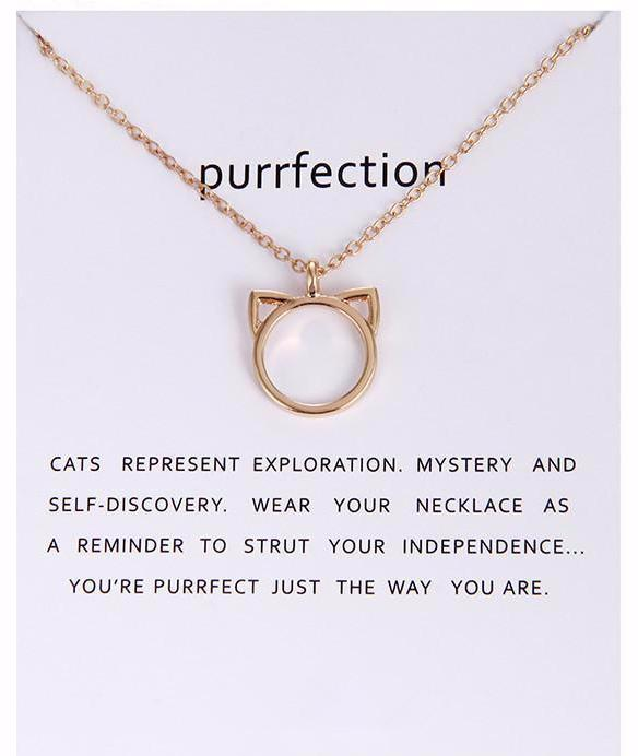 """Purrfection Necklace"""