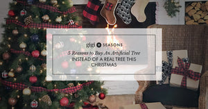 5 Reasons To Buy An Artificial Tree Instead Of A Real Tree This Christmas