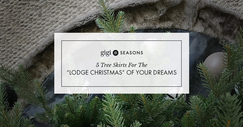 "5 Tree Skirts For The ""Lodge Christmas"" Of Your Dreams"