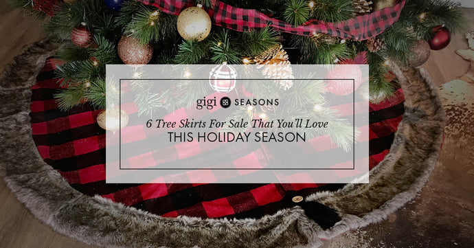 6 Tree Skirts For Sale That You'll Love This Holiday Season