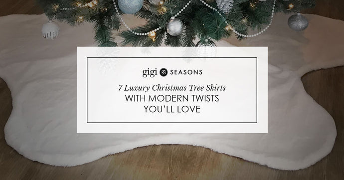 7 Luxury Christmas Tree Skirts With Modern Twists You'll Love