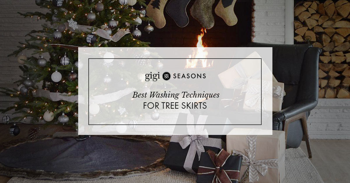 Best Washing Techniques For Tree Skirts