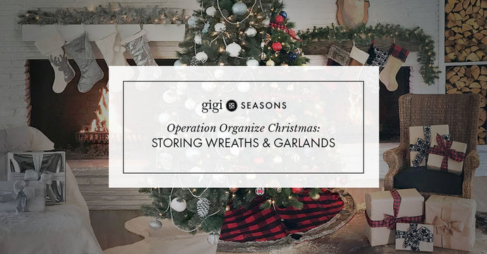 Operation Organize Christmas: Storing Wreaths & Garlands