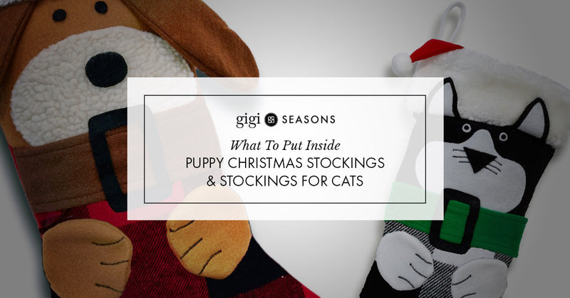 What To Put Inside Puppy Christmas Stockings And Stockings For Cats