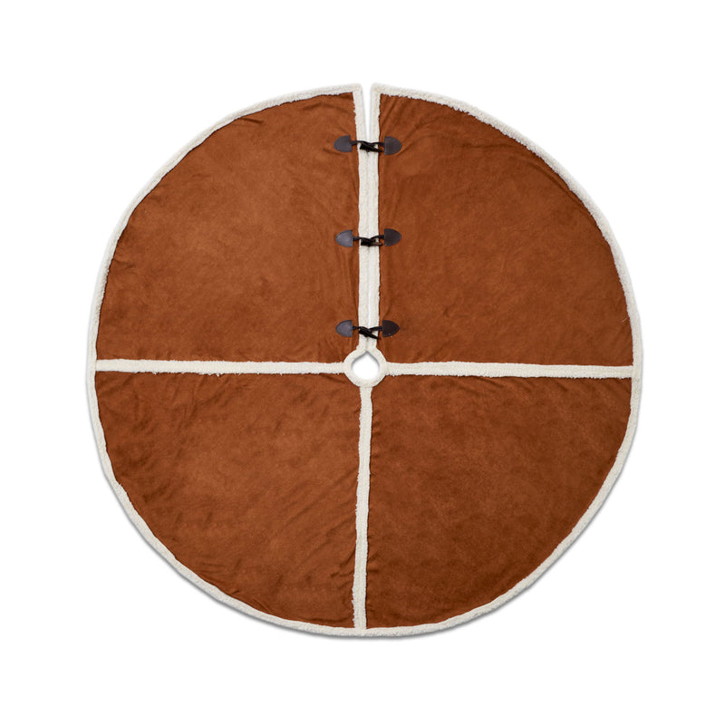 Faux Shearling Tree Skirt