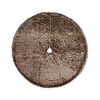 Luxe Wall to Wall Faux Fur Tree Skirt