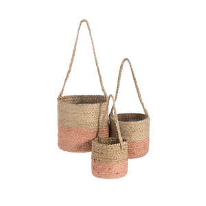Camila Hanging Planters - Assorted Set of 3