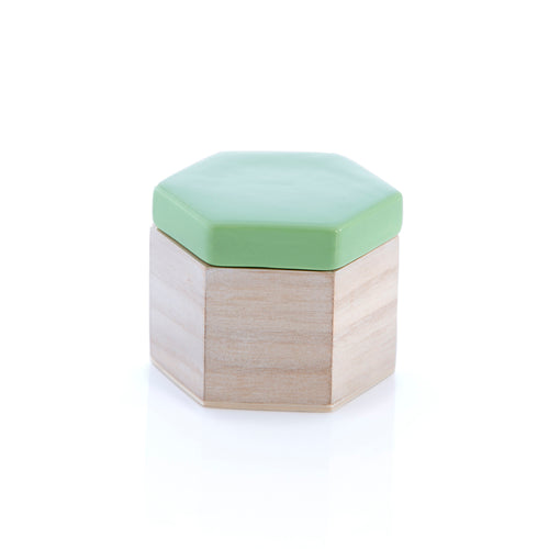 Small Hexagon Trinket Box