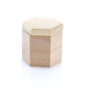 Medium Hexagon Trinket Box
